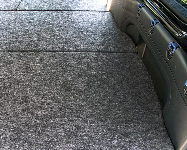 バモスベッドキット 荷室収納